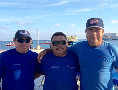 blue xt-sea diving guys