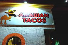 Arabian Taco Cozumel Mexico